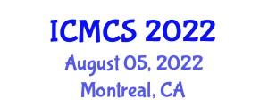 International Conference on Mathematical Cryptology and Security (ICMCS) August 05, 2022 - Montreal, Canada