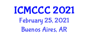 International Conference on Mathematical Cryptology, Cryptosystems and Cryptanalysis (ICMCCC) February 25, 2021 - Buenos Aires, Argentina