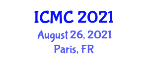 International Conference on Mathematical Cryptology (ICMC) August 26, 2021 - Paris, France