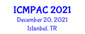 International Conference on Mathematical Protocols and Applications of Cryptography (ICMPAC) December 20, 2021 - Istanbul, Turkey