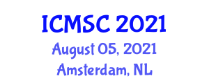 International Conference on Mathematical Sciences and Cryptography (ICMSC) August 05, 2021 - Amsterdam, Netherlands