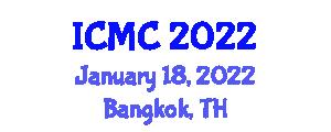 International Conference on Mathematics and Cryptography (ICMC) January 18, 2022 - Bangkok, Thailand