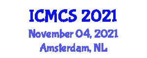 International Conference on Mathematics, Computation and Statistics (ICMCS) November 04, 2021 - Amsterdam, Netherlands