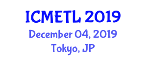 International Conference on Mathematics Education, Teaching and Learning (ICMETL) December 04, 2019 - Tokyo, Japan