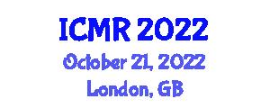 International Conference on Mathematics of Robotics (ICMR) October 21, 2022 - London, United Kingdom