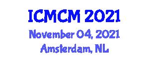 International Conference on Mechanics of Composite Materials (ICMCM) November 04, 2021 - Amsterdam, Netherlands
