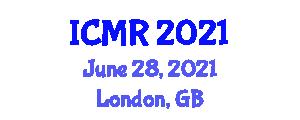 International Conference on Mechatronics and Robotics (ICMR) June 28, 2021 - London, United Kingdom