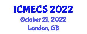 International Conference on Mechatronics Engineering and Computer Sciences (ICMECS) October 21, 2022 - London, United Kingdom