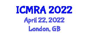 International Conference on Mechatronics, Robotics and Automation (ICMRA) April 22, 2022 - London, United Kingdom