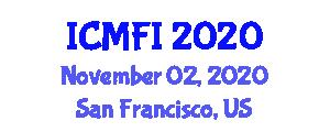 International Conference on Medical Food and Ingredients (ICMFI) November 02, 2020 - San Francisco, United States