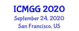 International Conference on Medical Geology and Geography (ICMGG) September 24, 2020 - San Francisco, United States