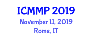 International Conference on Medical Microbiology and Physiology (ICMMP) November 11, 2019 - Rome, Italy