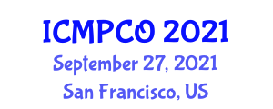 International Conference on Metaphysics, Persistence and Constitution (ICMPCO) September 27, 2021 - San Francisco, United States