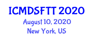 International Conference on Methods, Devices and Sensors for Food Traceability Technologies (ICMDSFTT) August 10, 2020 - New York, United States