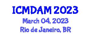 International Conference on Microarray Data Analysis and Mining (ICMDAM) March 04, 2023 - Rio de Janeiro, Brazil