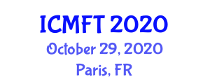 International Conference on Microbial and Fermentation Technology (ICMFT) October 29, 2020 - Paris, France