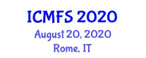 International Conference on Micronutrients and Food Science (ICMFS) August 20, 2020 - Rome, Italy
