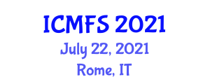 International Conference on Micronutrients and Food Science (ICMFS) July 22, 2021 - Rome, Italy