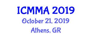 International Conference on Microrobotics, Methods and Applications (ICMMA) October 21, 2019 - Athens, Greece