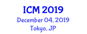International Conference on Middleware (ICM) December 04, 2019 - Tokyo, Japan