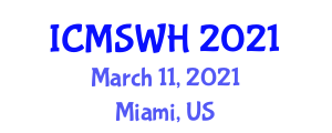 International Conference on Midwifery Studies and Women's Health (ICMSWH) March 11, 2021 - Miami, United States