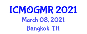 International Conference on Mining and Oil, Gas and Mineral Resources (ICMOGMR) March 08, 2021 - Bangkok, Thailand