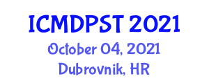 International Conference on Mobile Device Protection and Security Threats (ICMDPST) October 04, 2021 - Dubrovnik, Croatia