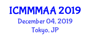 International Conference on Modern Magnetic Materials for Advanced Applications (ICMMMAA) December 04, 2019 - Tokyo, Japan