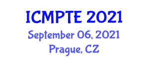 International Conference on Modern Physics, Theories and Experiments (ICMPTE) September 06, 2021 - Prague, Czechia