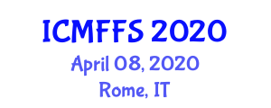 International Conference on Modified Foods and Food Security (ICMFFS) April 08, 2020 - Rome, Italy