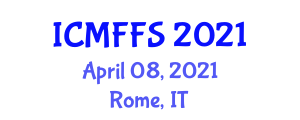 International Conference on Modified Foods and Food Security (ICMFFS) April 08, 2021 - Rome, Italy