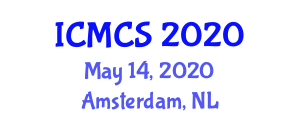 International Conference on Molecular Cybernetics and Systems (ICMCS) May 14, 2020 - Amsterdam, Netherlands