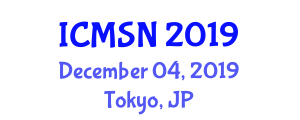 International Conference on Moral Sociology and Norms (ICMSN) December 04, 2019 - Tokyo, Japan
