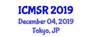 International Conference on Morphogenetic Swarm Robotics (ICMSR) December 04, 2019 - Tokyo, Japan