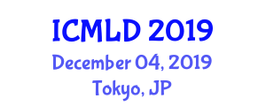 International Conference on Motor Learning and Development (ICMLD) December 04, 2019 - Tokyo, Japan