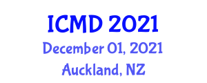 International Conference on Movement Disorders (ICMD) December 01, 2021 - Auckland, New Zealand