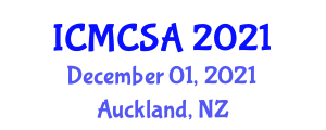 International Conference on Multiloop Control Systems and Applications (ICMCSA) December 01, 2021 - Auckland, New Zealand