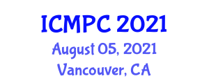 International Conference on Muon Physics and Chemistry (ICMPC) August 05, 2021 - Vancouver, Canada