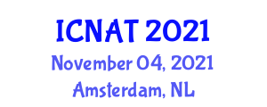 International Conference on Nanobiomaterials in Antimicrobial Therapy (ICNAT) November 04, 2021 - Amsterdam, Netherlands