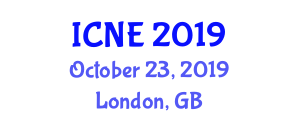 International Conference on Nanoelectromechanics in Engineering (ICNE) October 23, 2019 - London, United Kingdom