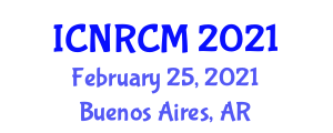 International Conference on Nanofiber Reinforced Composite Materials (ICNRCM) February 25, 2021 - Buenos Aires, Argentina