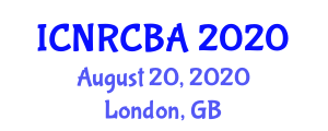International Conference on Nanofiber Reinforced Composites for Biomedical Applications (ICNRCBA) August 20, 2020 - London, United Kingdom
