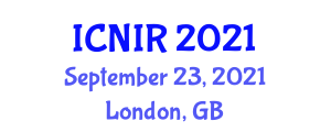 International Conference on Nanomanufacturing and Industrial Robotics (ICNIR) September 23, 2021 - London, United Kingdom