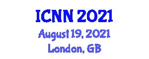 International Conference on Nanorobotics and Nanotechnology (ICNN) August 19, 2021 - London, United Kingdom