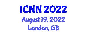 International Conference on Nanorobotics and Nanotechnology (ICNN) August 19, 2022 - London, United Kingdom