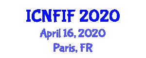 International Conference on Nanoscopic Fibers and Innovative Fashion (ICNFIF) April 16, 2020 - Paris, France