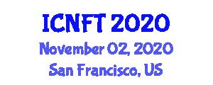 International Conference on Nanoscopic Fibers and Technology (ICNFT) November 02, 2020 - San Francisco, United States