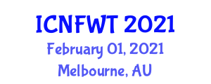 International Conference on Nanoscopic Fibers and Wearable Technology (ICNFWT) February 01, 2021 - Melbourne, Australia