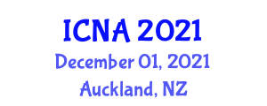 International Conference on Nanotechnology and Architecture (ICNA) December 01, 2021 - Auckland, New Zealand
