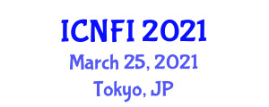 International Conference on Nanotechnology and Food Industry (ICNFI) March 25, 2021 - Tokyo, Japan